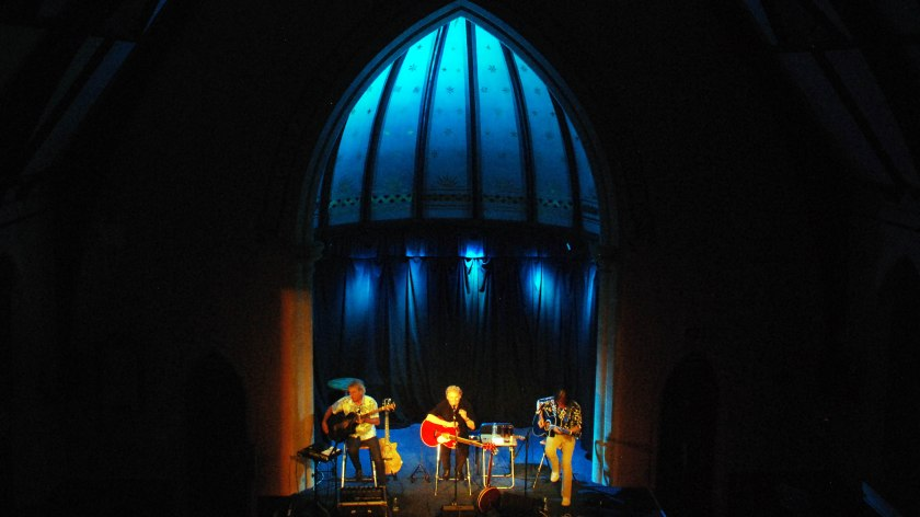 The Acoustic Strawbs on stage, 17th September 2016